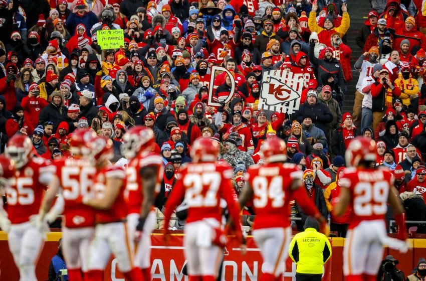 Kansas City Chiefs, Arrowhead Stadium. (Photo by David Eulitt/Getty Images)