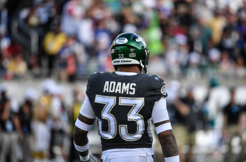 ORLANDO, FLORIDA - JANUARY 26: Jamal Adams #33 of the New York Jets in action during the 2020 NFL Pro Bowl at Camping World Stadium on January 26, 2020 in Orlando, Florida. (Photo by Mark Brown/Getty Images)