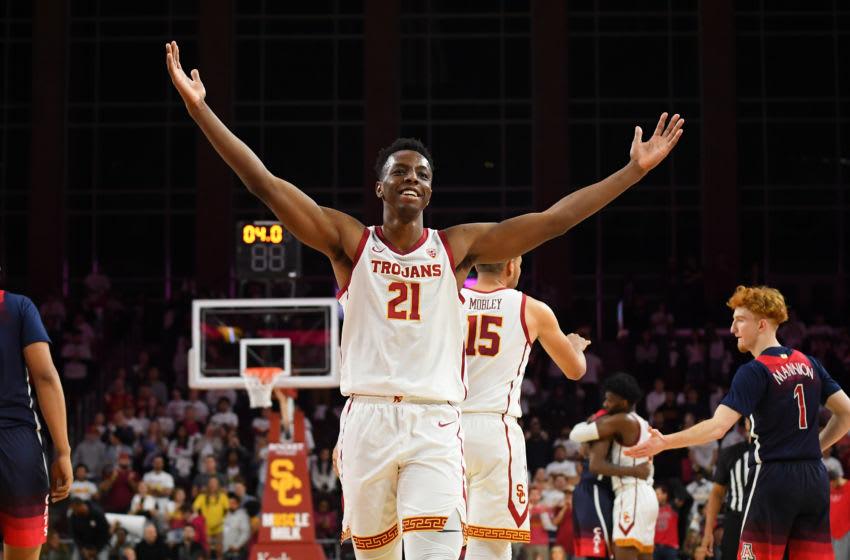 Onyeka Okongwu, #21, USC Trojans, (Photo by Jayne Kamin-Oncea/Getty Images)