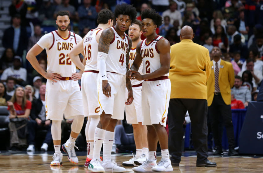 Collin Sexton, #2, Cleveland Cavaliers, Kevin Porter Jr., #4, (Photo by Jonathan Bachman/Getty Images)
