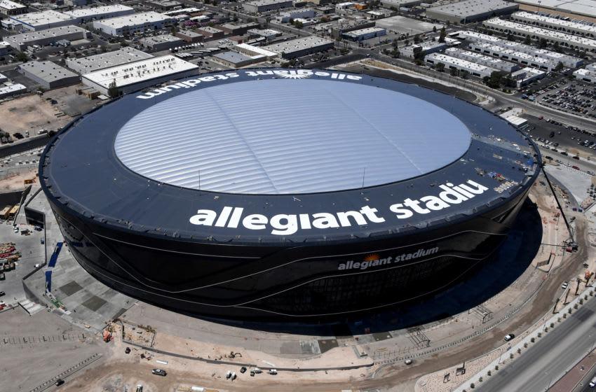 Las Vegas Raiders, Allegiant Stadium. (Photo by Ethan Miller/Getty Images)