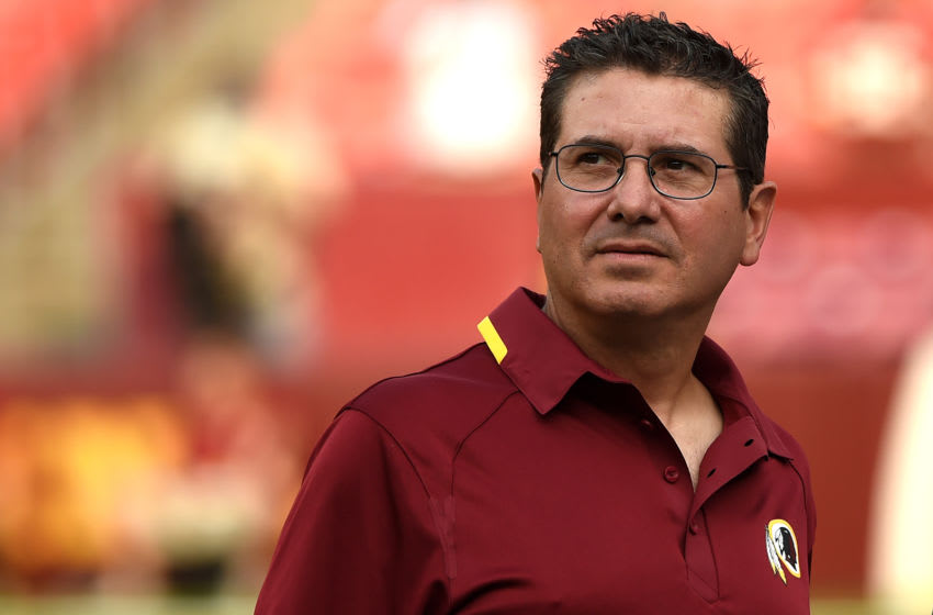 LANDOVER, MD - AUGUST 07: Washington Redskins owner Daniel Snyder (Photo by Patrick Smith/Getty Images)