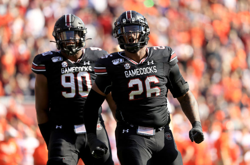 Zacch Pickens, South Carolina Gamecocks. (Photo by Streeter Lecka/Getty Images)
