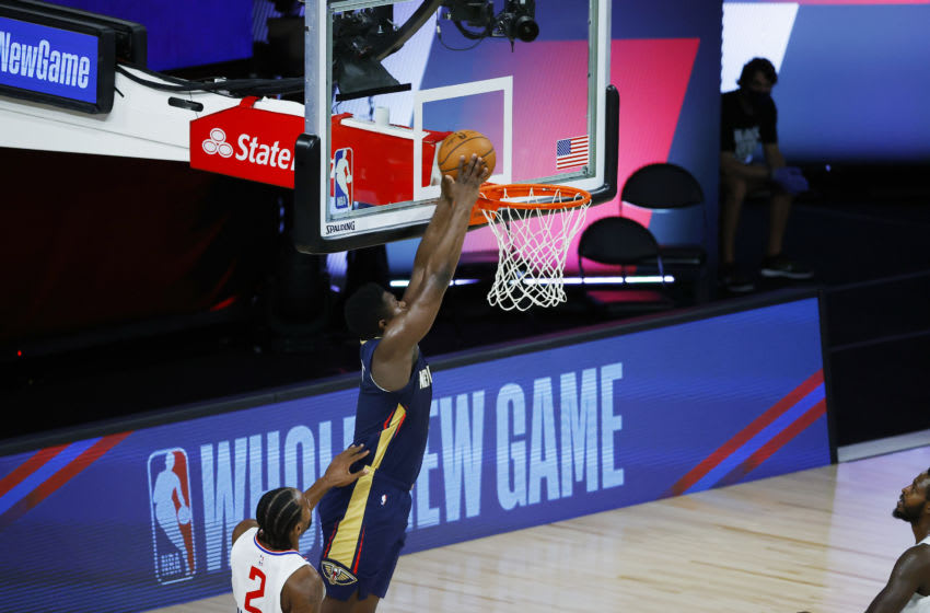New Orleans Pelicans' Zion Williamson (Photo by Kevin C. Cox/Getty Images)