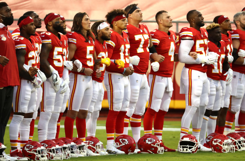 Kansas City Chiefs. (Photo by Jamie Squire/Getty Images)