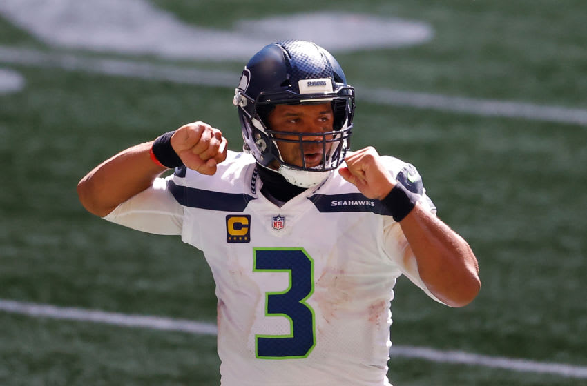Russell Wilson, Seattle Seahawks. (Photo by Kevin C. Cox/Getty Images)