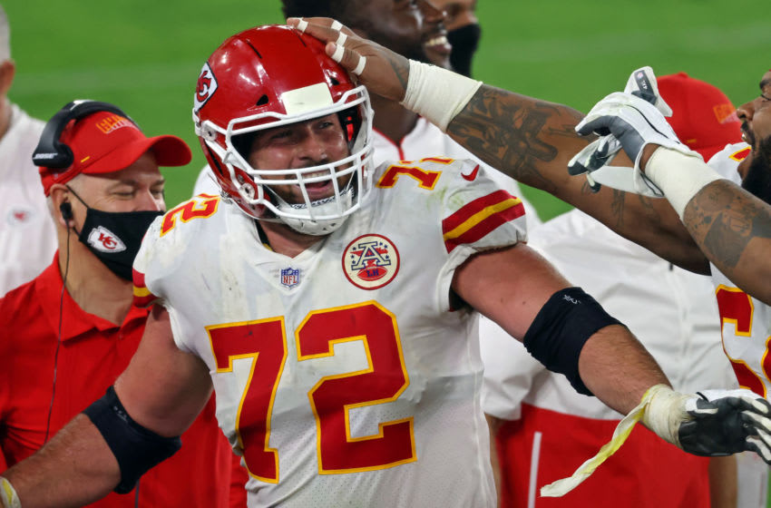 Eric Fisher, Kansas City Chiefs. (Photo by Rob Carr/Getty Images)