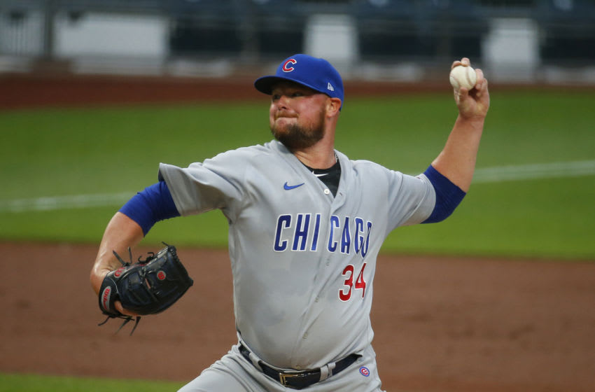 PITTSBURGH, PA - SEPTEMBER 01: Jon Lester #34 of the Chicago Cubs (Photo by Justin K. Aller/Getty Images)