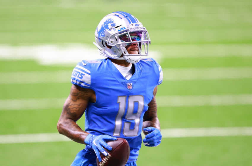 DETROIT, MI - OCTOBER 04: Kenny Golladay #19 of the Detroit Lions (Photo by Rey Del Rio/Getty Images)