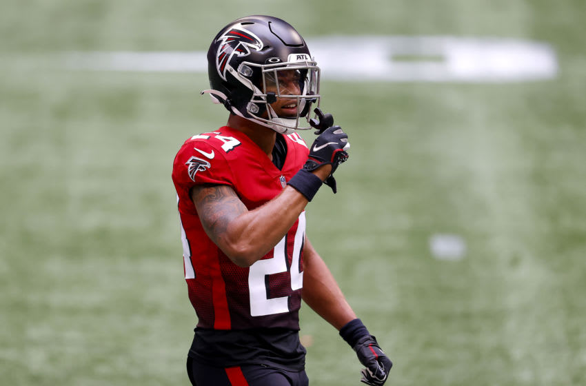 Atlanta Falcons CB AJ Terrell (Photo by Kevin C. Cox/Getty Images)