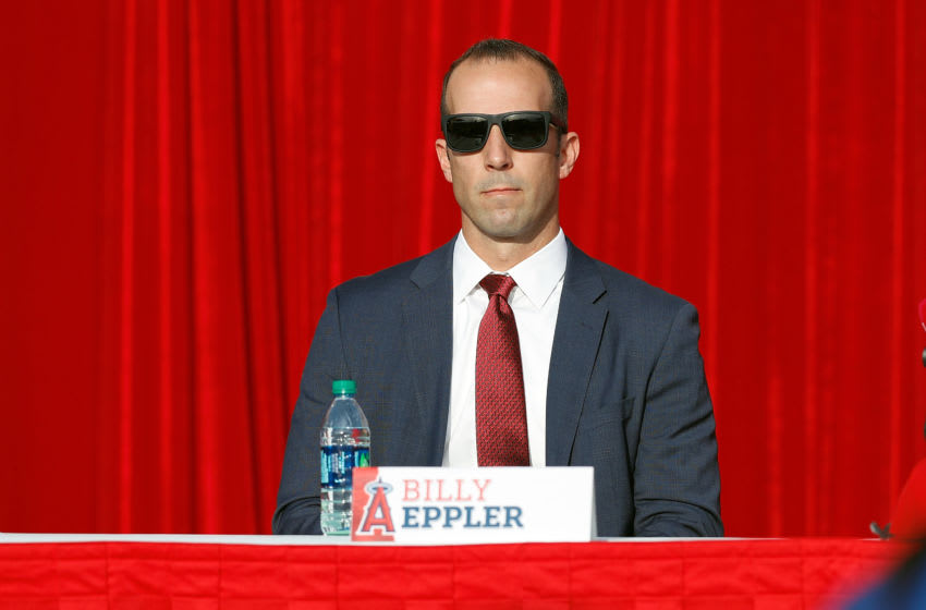ANAHEIM, CA - DECEMBER 09: General Manager Billy Eppler (Photo by Josh Lefkowitz/Getty Images)