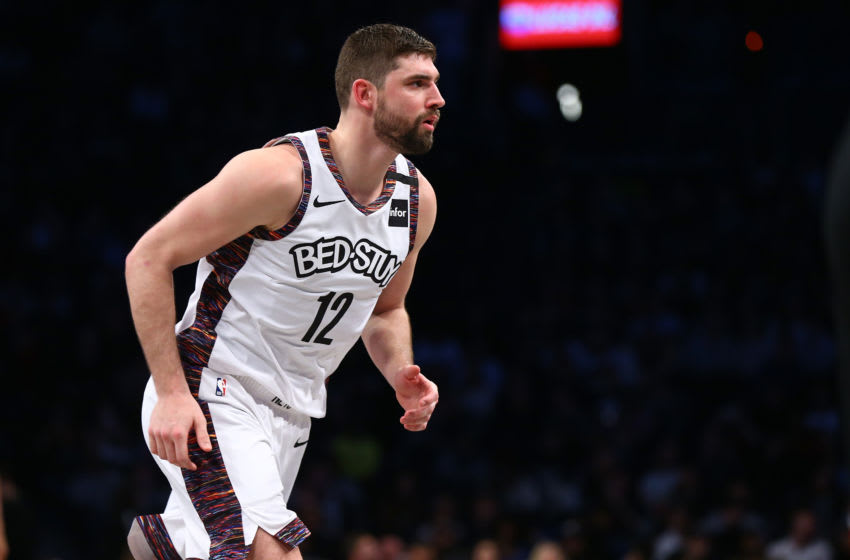 NEW YORK, NEW YORK - JANUARY 04: Joe Harris #12 of the Brooklyn Nets (Photo by Mike Stobe/Getty Images)