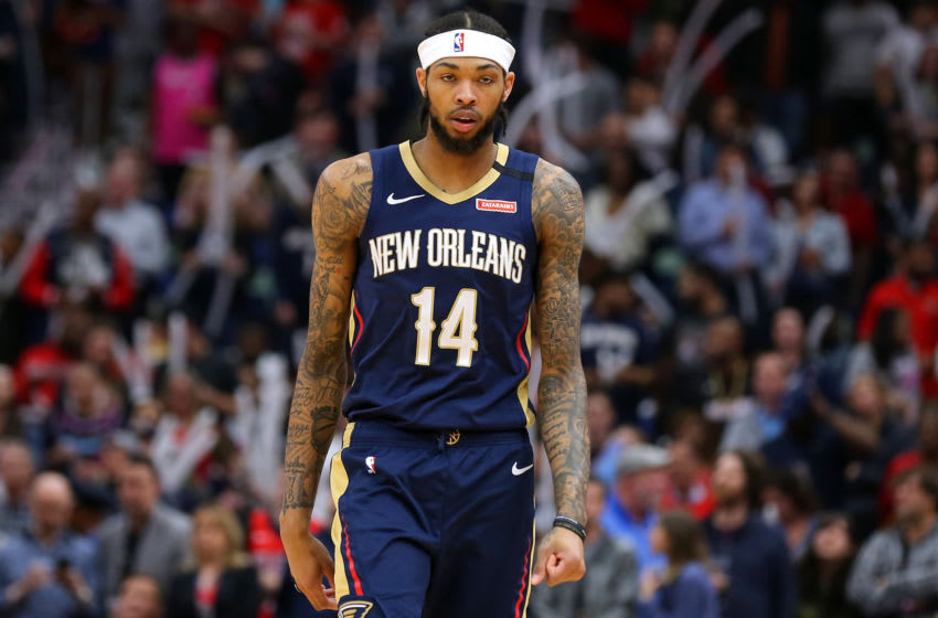 NEW ORLEANS, LOUISIANA - MARCH 06: Brandon Ingram #14 of the New Orleans Pelicans (Photo by Jonathan Bachman/Getty Images)