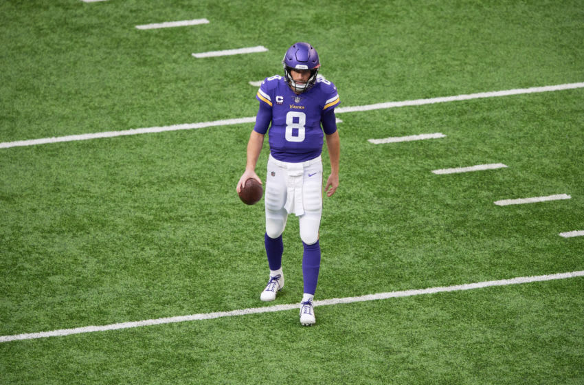 MINNEAPOLIS, MINNESOTA - DECEMBER 20: Kirk Cousins #8 of the Minnesota Vikings (Photo by Hannah Foslien/Getty Images)