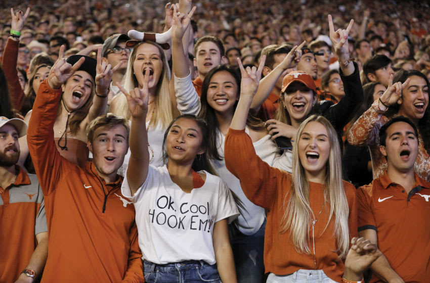 Texas Longhorns. (Photo by Tim Warner/Getty Images)