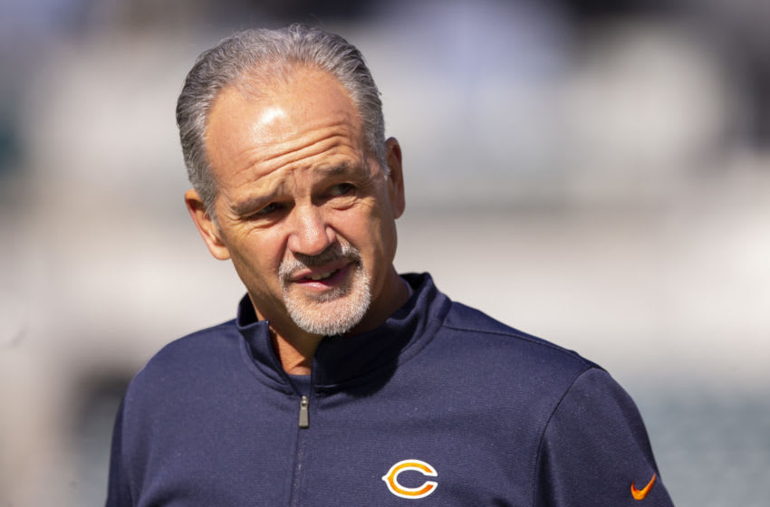 Chuck Pagano, Chicago Bears. (Photo by Mitchell Leff/Getty Images)
