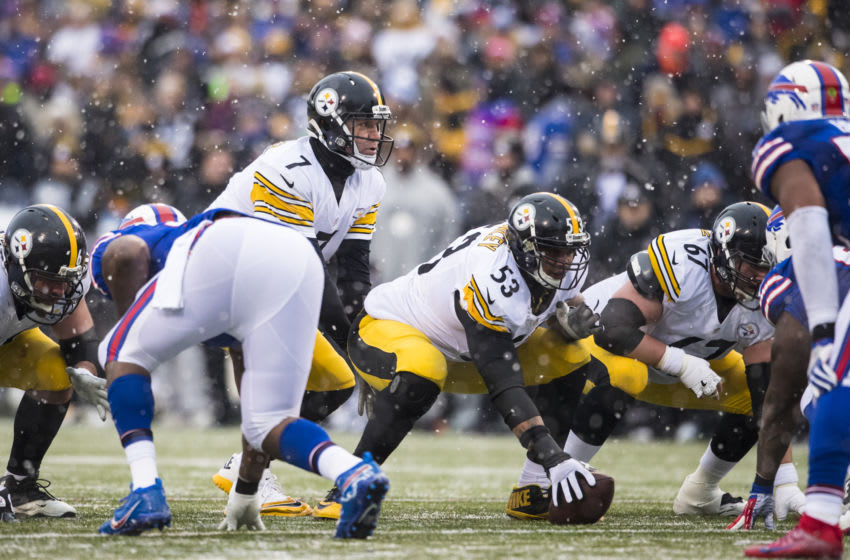 ORCHARD PARK, NY - DECEMBER 11: Ben Roethlisberger #7 of the Pittsburgh Steelers (Photo by Brett Carlsen/Getty Images)