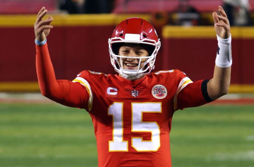 Patrick Mahomes, Kansas City Chiefs. (Photo by Jamie Squire/Getty Images)