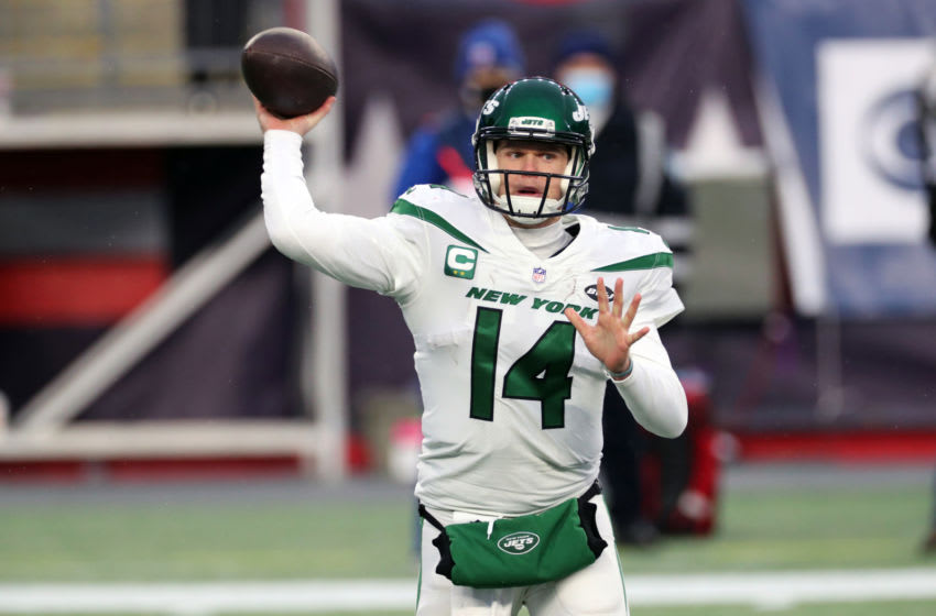 Sam Darnold, New York Jets. (Photo by Al Pereira/Getty Images)