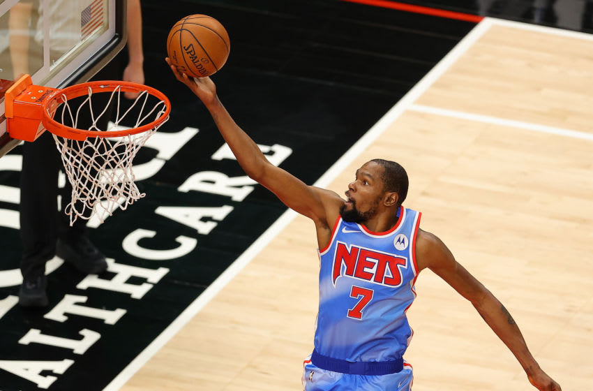 Kevin Durant, Brooklyn Nets. (Photo by Kevin C. Cox/Getty Images)