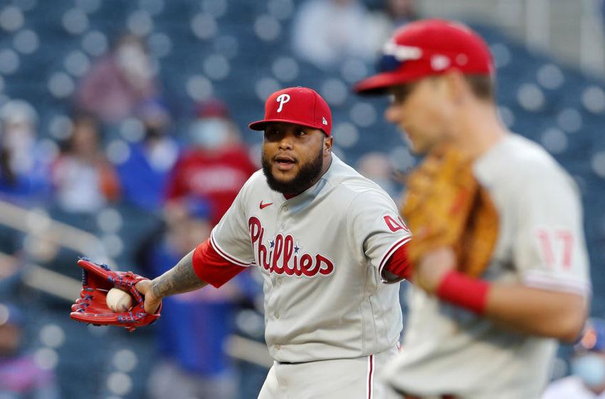 Philadelphia Phillies pitcher Jose Alvarado. (Photo by Jim McIsaac/Getty Images)