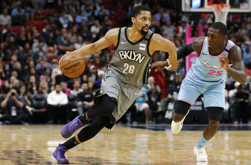 Spencer Dinwiddie, Brooklyn Nets. (Photo by Michael Reaves/Getty Images)