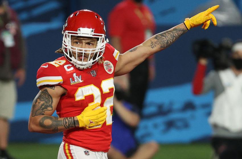 Tyrann Mathieu, Kansas City Chiefs. (Photo by Patrick Smith/Getty Images)