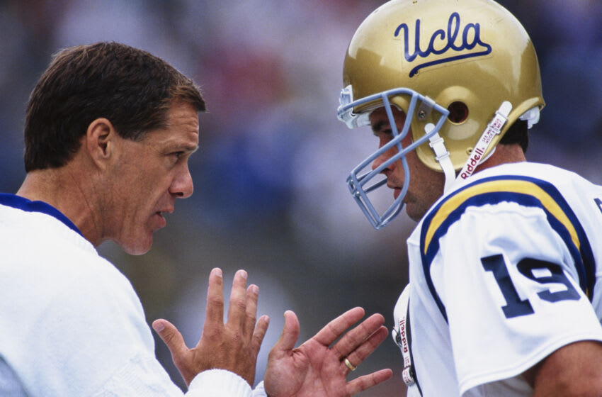 UCLA head coach Terry Donahue. (Otto Greule Jr /Allsport/Getty Images)