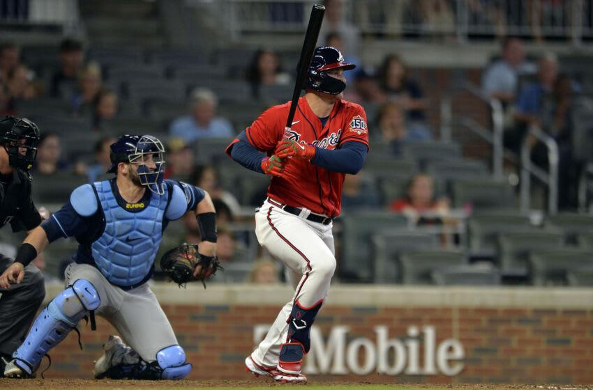 Joc Pederson, Atlanta Braves. (Photo by Edward M. Pio Roda/Getty Images)