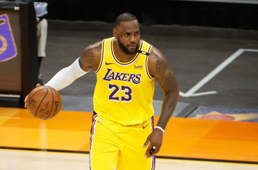 LeBron James, Los Angeles Lakers. (Photo by Christian Petersen/Getty Images)