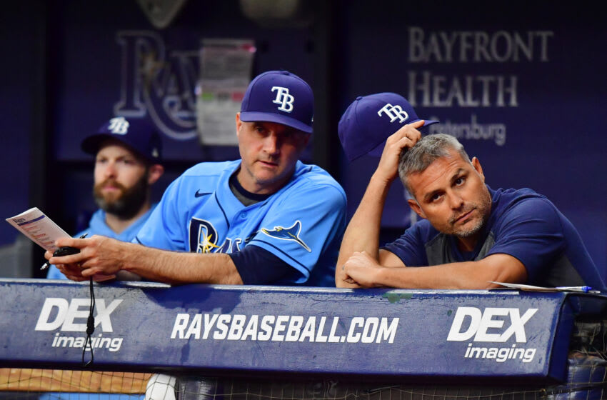 Tampa Bay Rays at Tropicana Field. (Julio Aguilar/Getty Images)