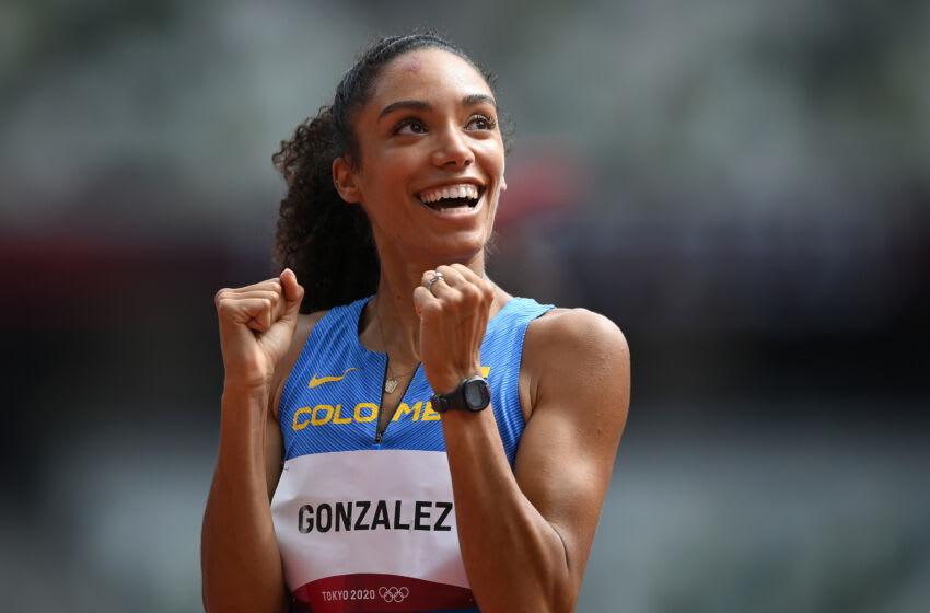 Melissa Gonzalez, Team Colombia. (Photo by Matthias Hangst/Getty Images)