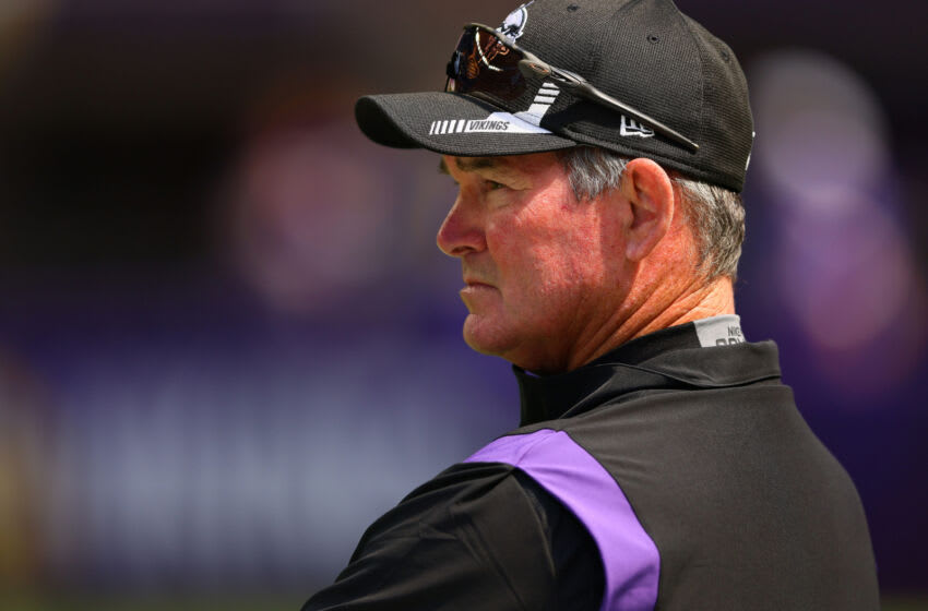 Mike Zimmer, Minnesota Vikings. (Photo by Adam Bettcher/Getty Images)
