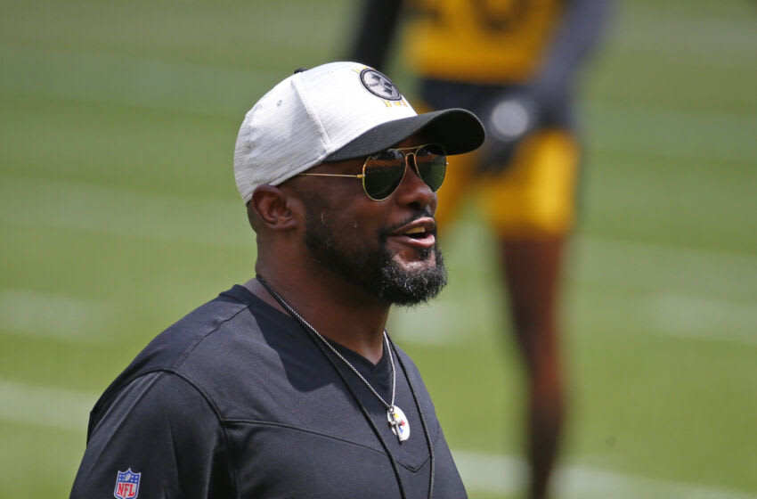 Mike Tomlin, Pittsburgh Steelers. (Photo by Justin K. Aller/Getty Images)