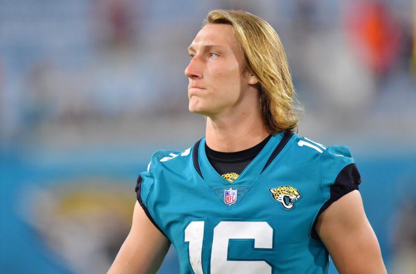 Jaguars quarterback Trevor Lawrence. (Julio Aguilar/Getty Images)