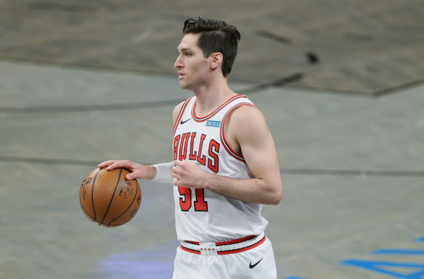 Ryan Arcidiacono #51 of the Chicago Bulls.(Photo by Sarah Stier/Getty Images)