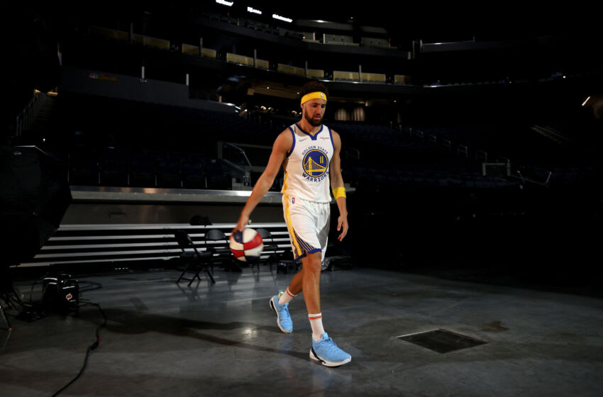 Klay Thompson #11 of the Golden State (Photo by Ezra Shaw/Getty Images)