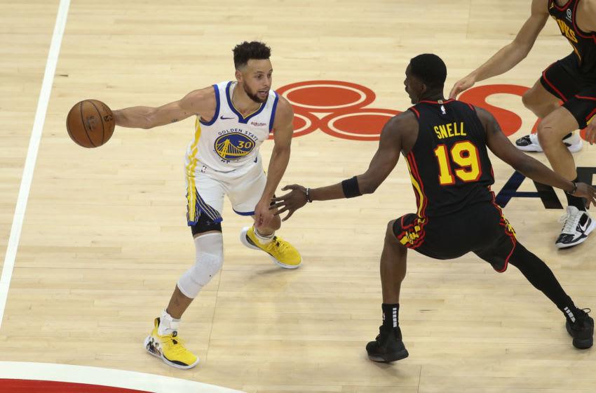 Golden State Warriors guard Steph Curry. Mandatory Credit: Brett Davis-USA TODAY Sports