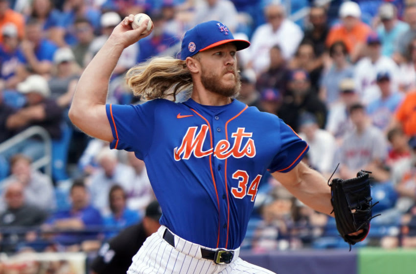 Noah Syndergaard, New York Mets. (Mandatory Credit: Steve Mitchell-USA TODAY Sports)