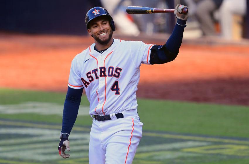 George Springer, Houston Astros. (Mandatory Credit: Jayne Kamin-Oncea-USA TODAY Sports)