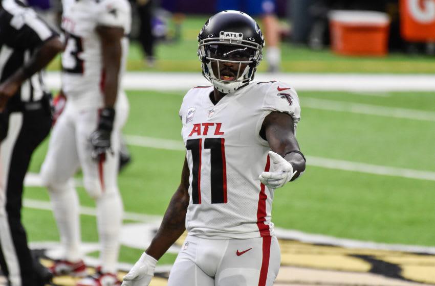 Julio Jones, Atlanta Falcons. (Mandatory Credit: Jeffrey Becker-USA TODAY Sports)