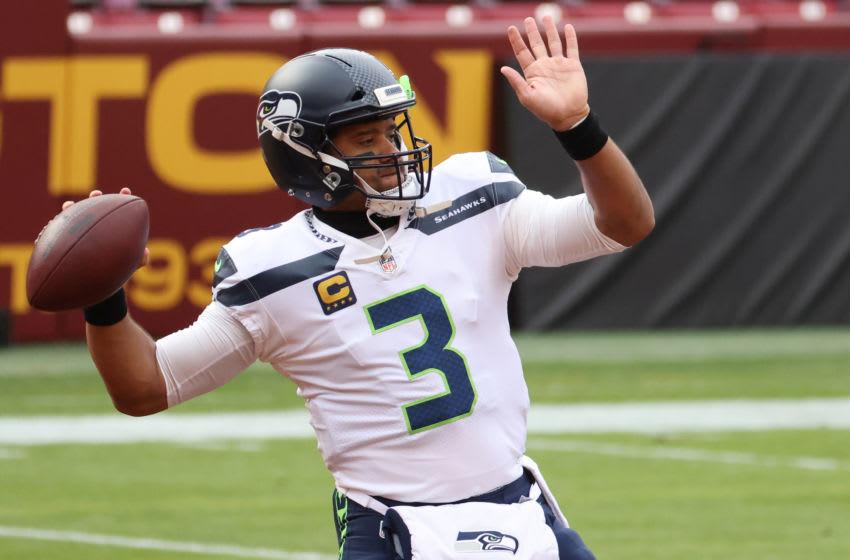 Russell Wilson, Seattle Seahawks. (Mandatory Credit: Geoff Burke-USA TODAY Sports