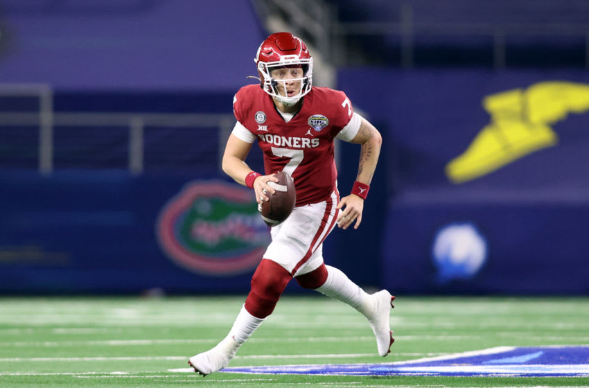 Oklahoma Sooners. Mandatory Credit: Tim Heitman-USA TODAY Sports