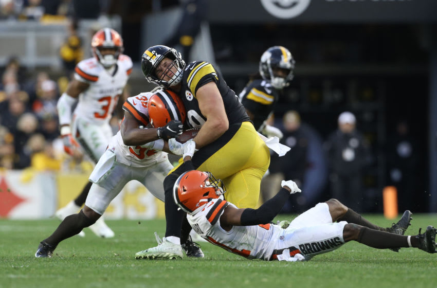 Cleveland Browns, Pittsburgh Steelers. (Mandatory Credit: Charles LeClaire-USA TODAY Sports)