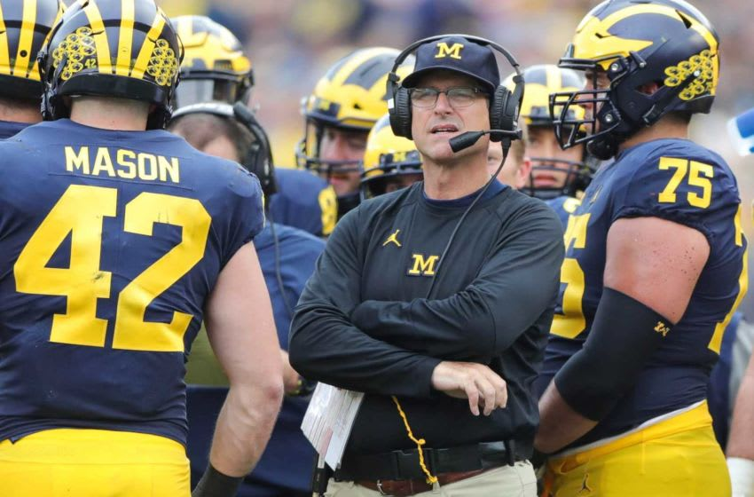 Jim Harbaugh, Michigan Wolverines. (USA Today)