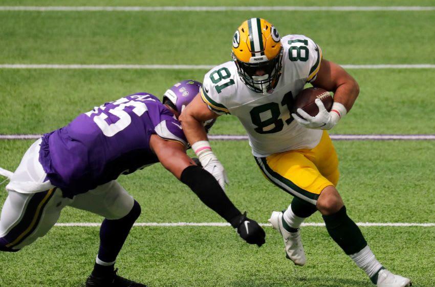 Josiah Deguara, Green Bay Packers. (Dan Powers/USA TODAY NETWORK-Wisconsin)