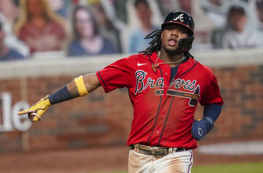 Ronald Acuna Jr., Atlanta Braves. (Mandatory Credit: Dale Zanine-USA TODAY Sports)