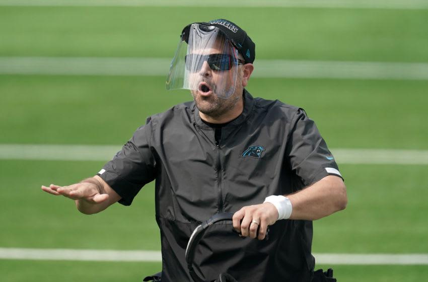 Matt Rhule, Carolina Panthers. (Mandatory Credit: Kirby Lee-USA TODAY Sports)