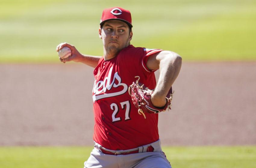 Trevor Bauer, Cincinnati Reds. (Mandatory Credit: Dale Zanine-USA TODAY Sports)