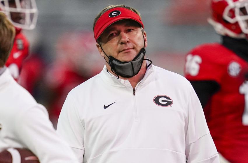 Kirby Smart, Georgia Bulldogs. (Mandatory Credit: Dale Zanine-USA TODAY Sports)